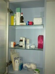 Medicin chest after